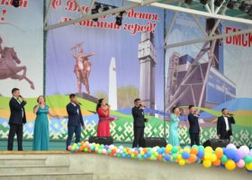 Празднование Дня города Сибай