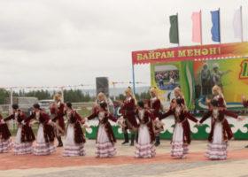 Сабантуй в Альшеевском районе