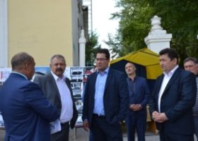 Приезд заместителя Премьер-министра Правительства РБ