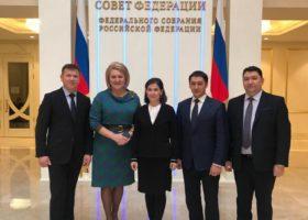 Встреча В.Матвиенко с руководителями детских театров России